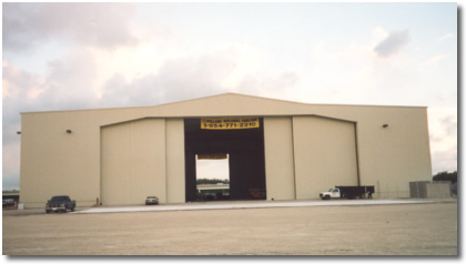 Corporate Aircraft Hangar St. Petersburg, Florida