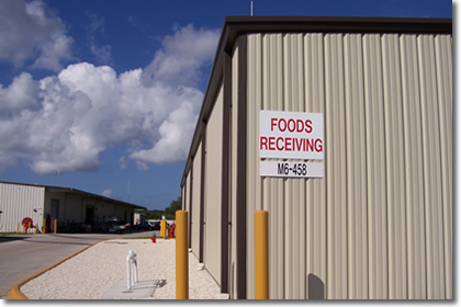 Commissary Warehouse Kennedy Space Center, Florida