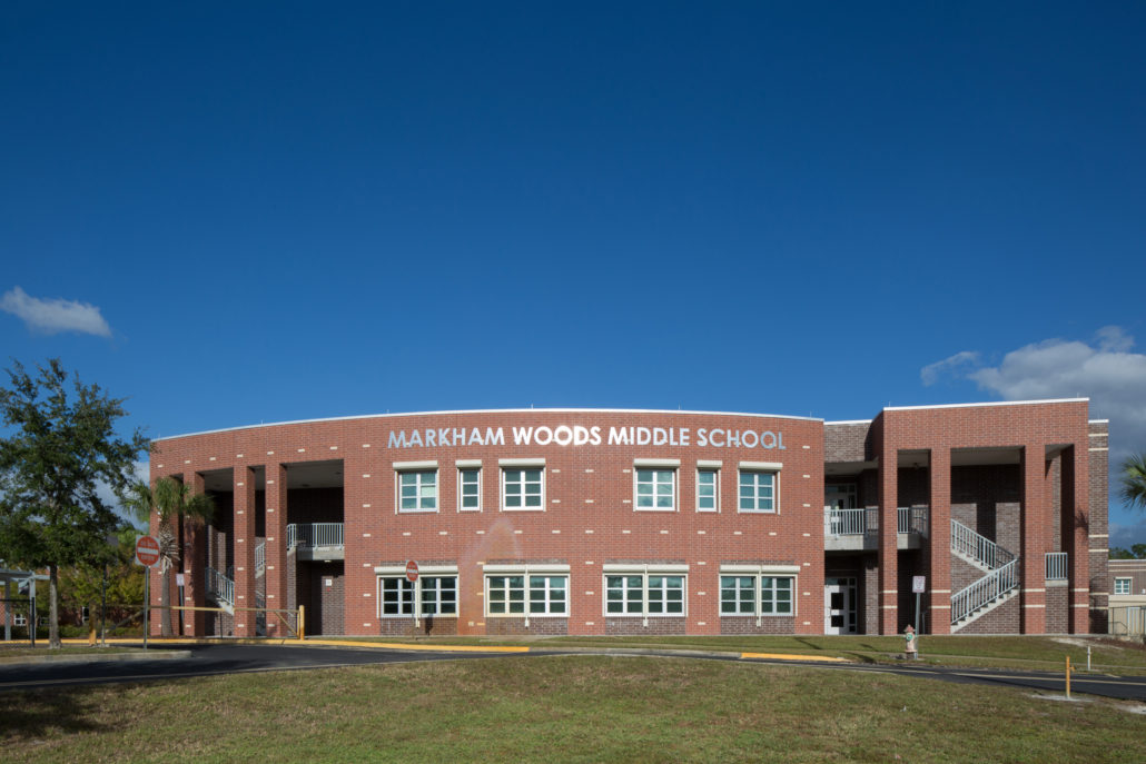 Markham Woods Middle School Mark Construction Company